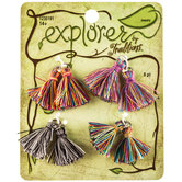 Mini Multi-Color Tassels